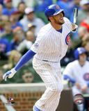 Kris Bryant 1st MLB Hit, April 18, 2015 Photo
