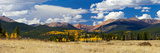 Colorado Rocky Mountains in Fall Photographic Print by  deberarr