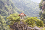 Traditional Pavillion atop Cliff Photographic Print by  janniswerner