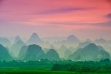 Karst Mountains of Guilin, China Reproduction photographique par  SeanPavonePhoto