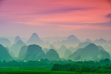 Karst Mountains of Guilin, China Photographic Print by  SeanPavonePhoto