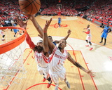 Dallas Mavericks v Houston Rockets- Game One Photo af Bill Baptist