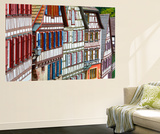 Traditional Half Timbered Buildings in Schiltach's Picturesque Medieval Altstad, Baden-Wurttemberg Wall Mural by Doug Pearson
