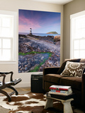 Penmon Point Lighthouse and Puffin Island, Anglesey, North Wales Wall Mural by Adam Burton
