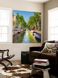 Netherlands, North Holland, Amsterdam. the Zuiderkerk Bell Tower Wall Mural by Francesco Iacobelli