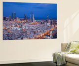 Bahrain, Manama, View of City Skyline Wall Mural by Jane Sweeney