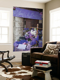 Lavender Display in Shop, Gubbio, Umbria, Italy Wall Mural by Ian Trower