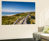Wodden Path in the Dunes, Wenningstedt, Sylt Island, Northern Frisia, Schleswig-Holstein, Germany Wall Mural by Sabine Lubenow
