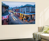 Louisiana, New Orleans, French Quarter, Bourbon Street Wall Mural by John Coletti
