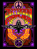 Jefferson Airplane - Fillmore Auditorium 1967 Metal Print by  Epic Rights