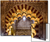 Spain, Andalusia, Cordoba. Interior of the Mezquita (Mosque) of Cordoba Prints by Matteo Colombo