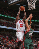 Milwaukee Bucks v Chicago Bulls- Game One Foto af Gary Dineen
