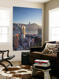 View of Hong Kong Island and Tsim Sha Tsui Skylines, Hong Kong Wall Mural by Ian Trower