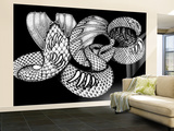 YES - Snakeskin Logo Wall Mural – Large by  Epic Rights