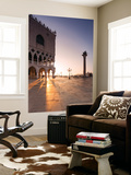 Italy, Venice. Doges Palace and Piazzetta San Marco at Sunrise Wall Mural by Matteo Colombo