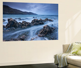 Rocky Shores of Rockham Bay, Looking Towards Morte Point, North Devon, England. Spring Wall Mural by Adam Burton