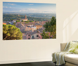 View of Church of Santa Giuliana, Perugia, Umbria, Italy Premium-Fototapete von Ian Trower