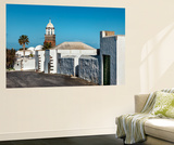 Church Nuestra Senora De Guadalupe, Teguise, Lanzarote, Canary Islands, Spain Wall Mural by Sabine Lubenow