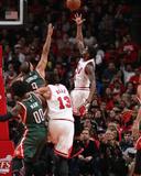 Milwaukee Bucks v Chicago Bulls- Game One Photo af Gary Dineen