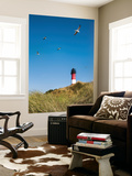 Lighthouse, Hörnum, Sylt Island, Northern Frisia, Schleswig-Holstein, Germany Wall Mural by Sabine Lubenow