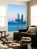 Bahrain, Manama, Bahrain Financial Harbour, Harbour Towers Wall Mural by Jane Sweeney