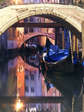 Italy, Venice. View of a Canal Metal Print by Matteo Colombo