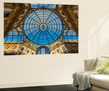Main Glassy Dome of the Galleria Vittorio Emanuele Ii, Milan, Lombardy, Italy Wall Mural by Stefano Politi Markovina
