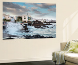 Rough Sea, Punta De Mujeres, Lanzarote, Canary Islands, Spain Wall Mural by Sabine Lubenow