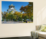 Osaka Castle, Osaka, Kansai, Japan Wall Mural by Ian Trower