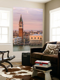 Italy, Veneto, Venice. High Angle View of the City at Sunset Wall Mural by Matteo Colombo
