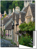 Picturesque Cottages in the Beautiful Cotswolds Village of Castle Combe, Wiltshire, England Prints by Adam Burton