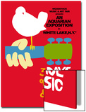 Woodstock - Festival Poster Art by  Epic Rights
