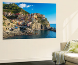 The Colorful Village of Manarola, Cinque Terre, Liguria, Italy Wall Mural by Stefano Politi Markovina