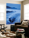 Shores of Crackington Haven on a Stormy Winter Day, Cornwall, England Wall Mural by Adam Burton