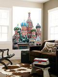 Saint Basil'S Cathedral on the Red Square, Moscow, Russia Wall Mural by Nadia Isakova