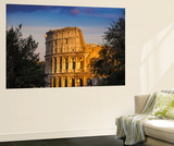 Italy, Lazio, Rome, the Colosseum Wall Mural by Jane Sweeney
