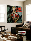 Billy Idol - Billy Idol Alternate 1982 Wall Mural by  Epic Rights