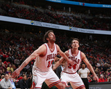 Milwaukee Bucks v Chicago Bulls- Game One Photo by Gary Dineen