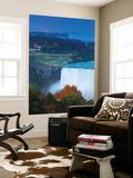 Canada and USA, Ontario and New York State, Niagara, Niagara Falls, View of Horseshoe Falls Fototapete von Jane Sweeney