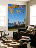 Canada, Ontario, Toronto, View of Cn Tower and City Skyline from Center Island Wall Mural by Jane Sweeney