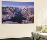 Half Dome and Yosemite Valley from Glacier Point, Yosemite National Park, California Wall Mural by Adam Burton