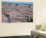 View of Gubbio, Umbria, Italy Wall Mural by Ian Trower