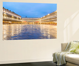 Italy, Veneto, Venice. St Marks Square Illuminated before Dawn Wall Mural by Matteo Colombo