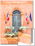 France, Provence Alps Cote D'Azur, Vaucluse, Roussillon. Town Hall (Hotel De Ville) in the Old Town Prints by Matteo Colombo