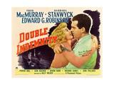 Double Indemnity, 1944 Gicléetryck