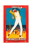 Mr. Hulot's Holiday, 1953 (Les Vacances De Monsieur Hulot) Giclee Print