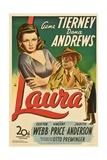 Laura, 1944 Giclée-tryk