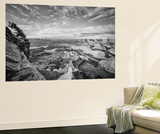 Classic Dead Horse Point in Black and White, Moab Utah Wall Mural by Vincent James
