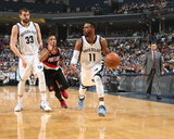 Portland Trail Blazers v Memphis Grizzlies - Game Two Fotografia por Joe Murphy