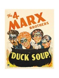 Duck Soup, 1933 Giclee Print